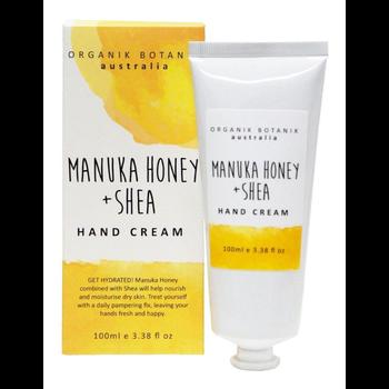 SPLOTCH 100ML BOXED HAND CREAM - MANUKA HONEY & SHEA
