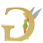 """""""G"""" - Tinker Bell Disney Letter"""