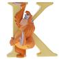 """K"" - King Louie Disney Letter"