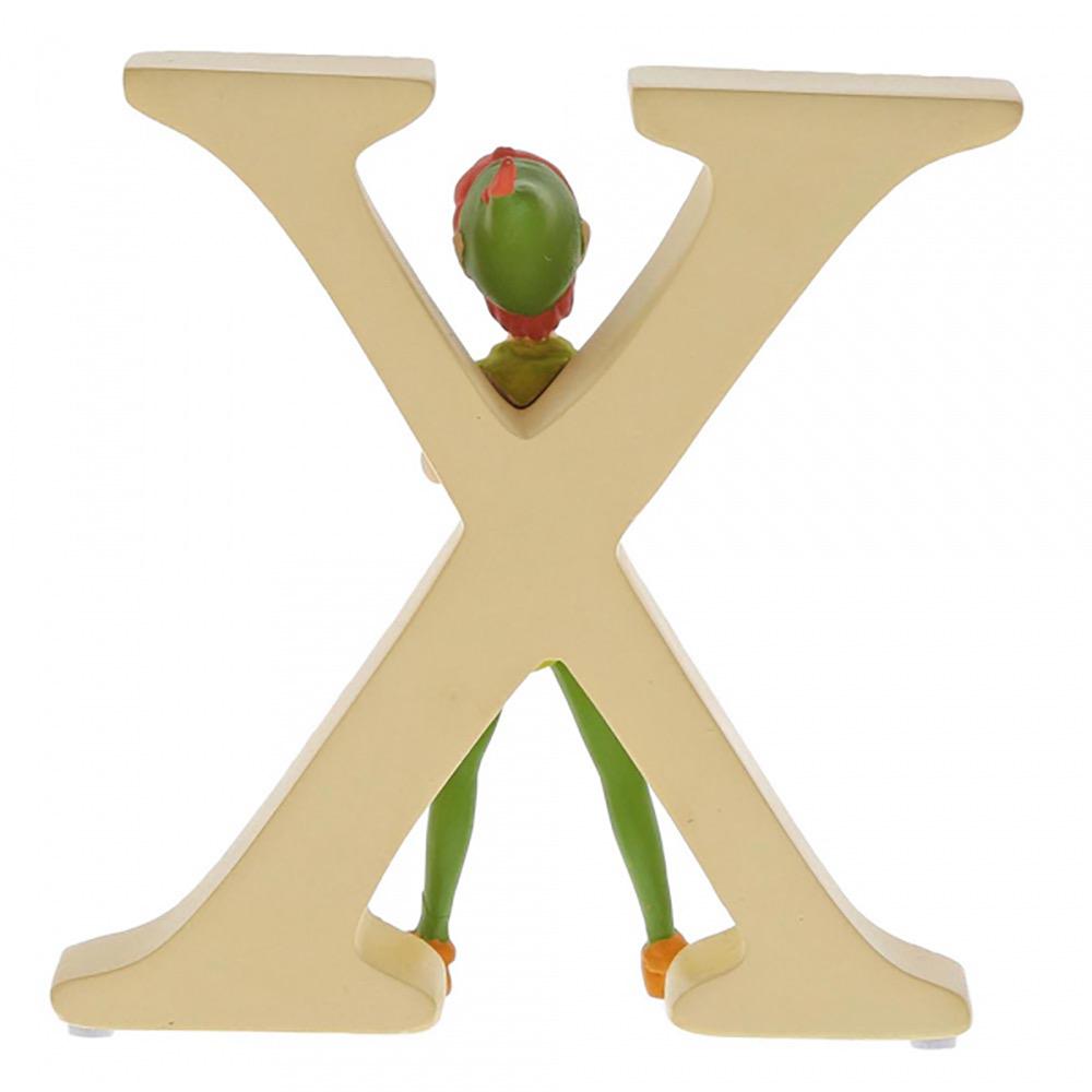 """X"" - Peter Pan Disney Letter"