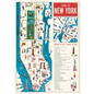 Poster/Wrap - New York Map 5*