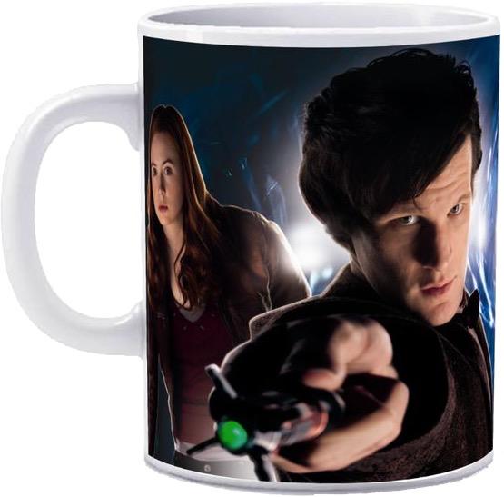 Dr Who -11th Doctor & Amy Pond Mug