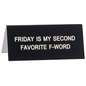 DESK SIGN SMALL: FAVOURITE F-WORD