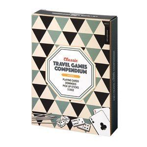 Classic Travel Games Compendium 4 in 1