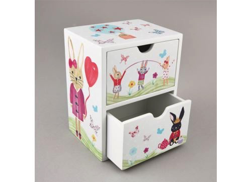 Chest 2 Drawer Bunny
