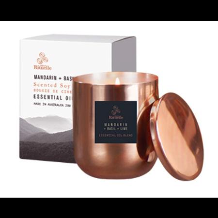EQ 280gm Soy Candle - Copper Jar