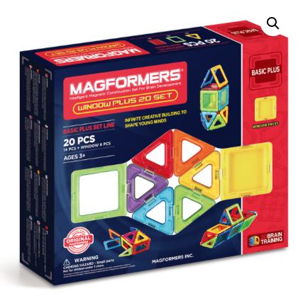 Window Plus 20 Set Magformers