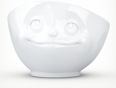 """Bowl """"dreamy"""" white"""