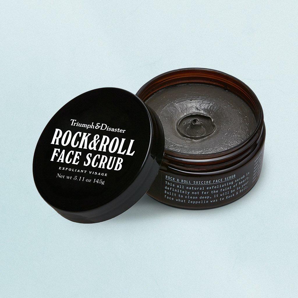 Rock & Roll Face Scrub 145g Jar