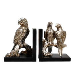 Australia BOOKENDS- parrot ON BRANCH (21CM)