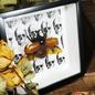 Eupatorus gracilicomis skull print in black frame 20x20cm