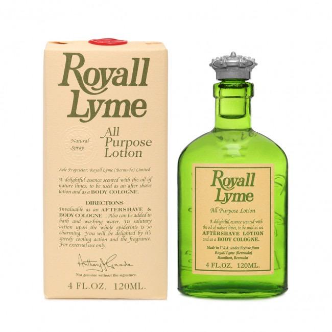 Royall Lyme Natural Spray - 120ml