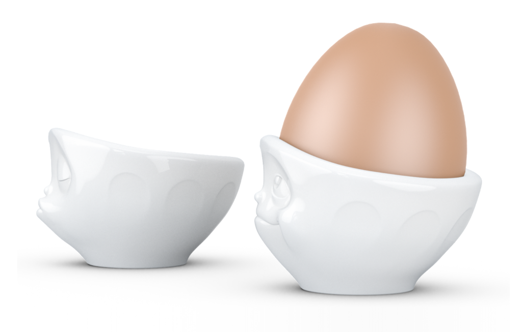 Egg cup set Kissing/Dreamy