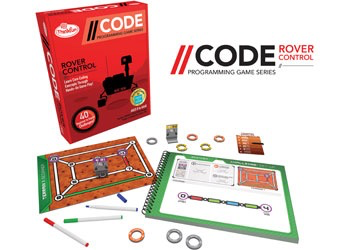 ThinkFun - CODE: Rover Control Game