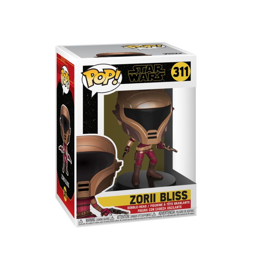 Star Wars - Zorii Bliss ep9 Pop!