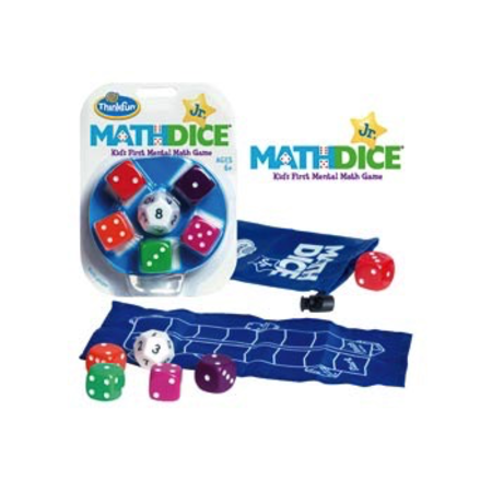ThinkFun - Math Dice Jr. Game