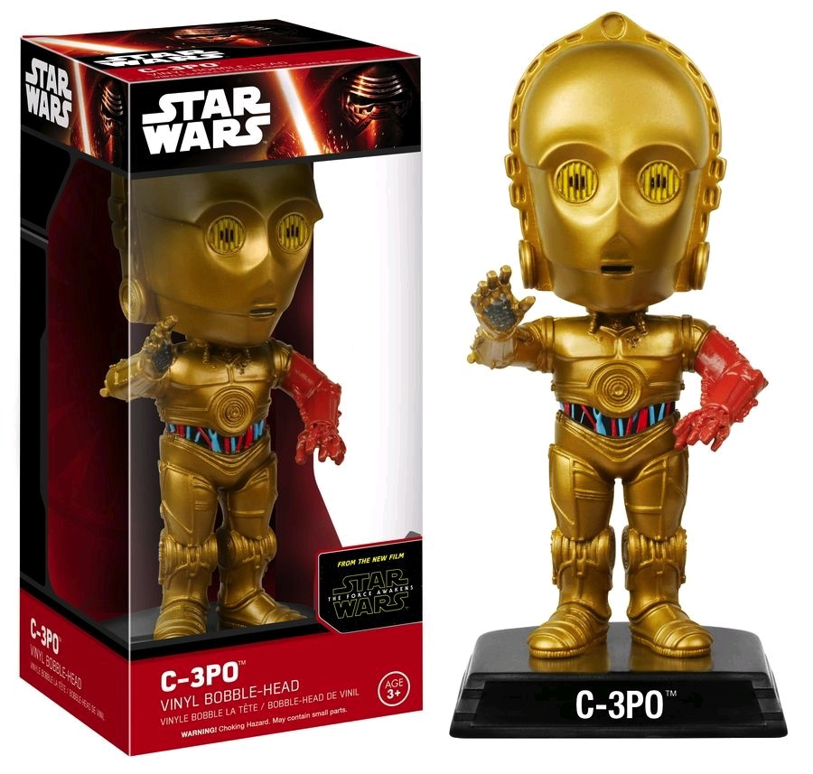 Star Wars - C-3PO Ep 7 Wacky Wobbler