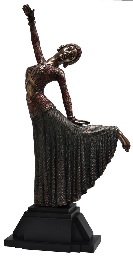 Deco lady dancing