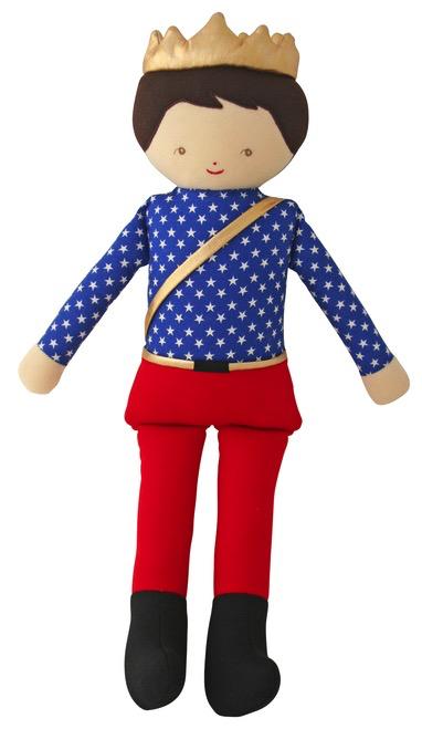 Prince Doll, soldier print 46cm