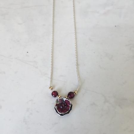SS. Gold Filled, garn bead
