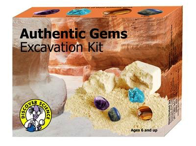 Authentic Gems excavation kit