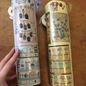Tall porcelain jugs
