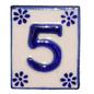 #5 TILE Blue/White Ceramic