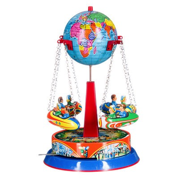Carousel - spinning globe