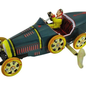 RACING CAR 'BUGATTI' Wind Up