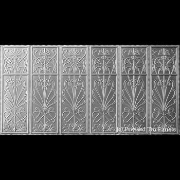 Pressed Tin Wildflower 1800x900