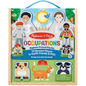 M&D - Occupations Magnetic Dress up Play Set
