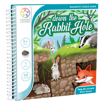 Down The Rabbit Hole Magnetic - Smart Games