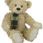 DEANS Teddy Julian, mohair, color: bicolor 5-fold jointed, cleanable, beans in body, limit: 299 pcs