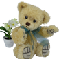 Teddy Benno, mohair, 5-fold jointed, color: light gold Design: Ren Bears, limited edition: 233 pcs