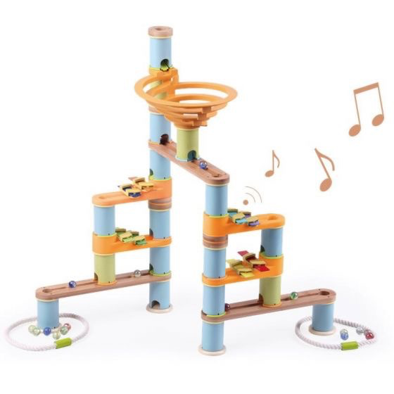 UDEAS - Bamboo Build & Run -Musical Set Marble