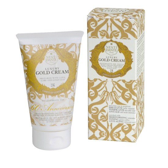 Gold Face and Body Cream