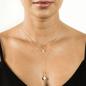 Lacuadra Pearl Necklace - Gold