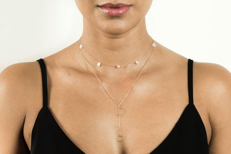 Om Necklace - Gold