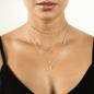 Tiera Moon Necklace - Silver