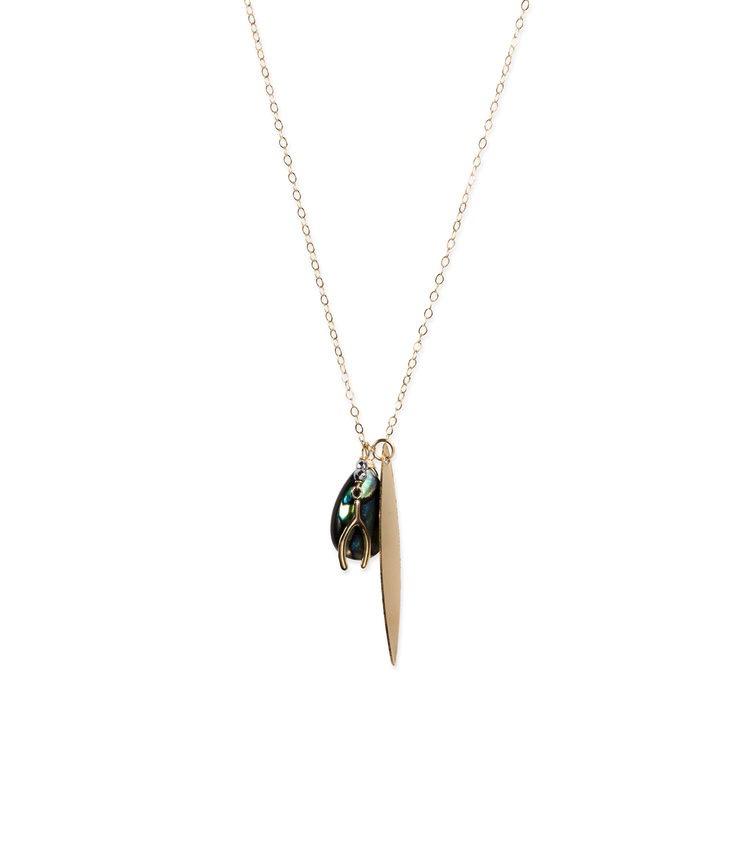 Long Trincas Necklace-Gold
