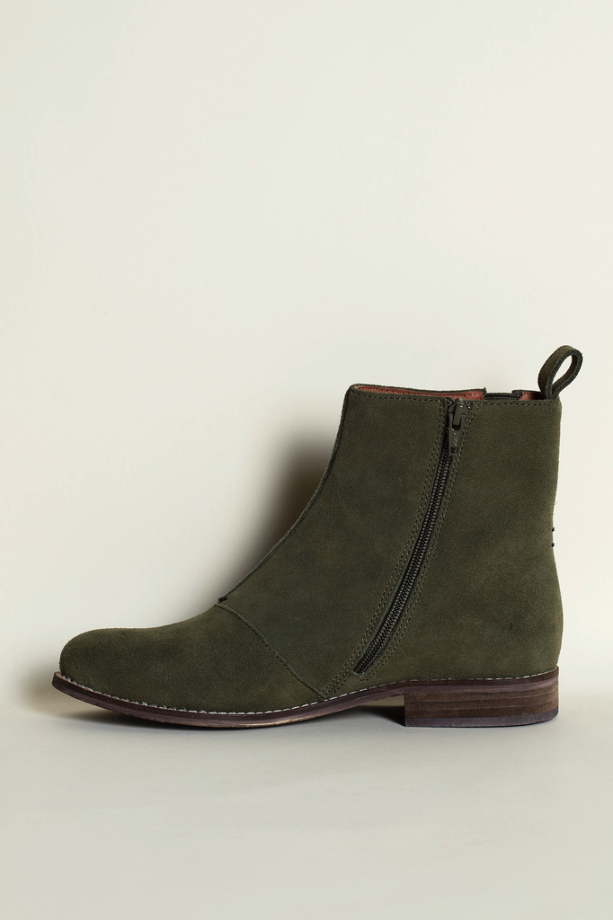 41 Olive Chelsea Boots WAS $235
