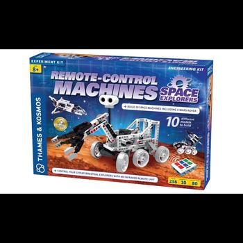Remote-Control Machines: Space Explorers