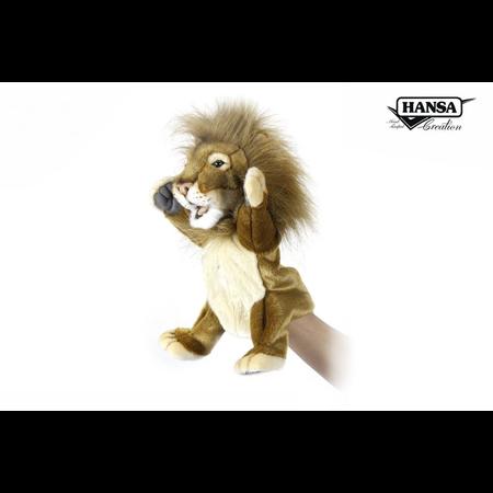 PUPPET LION 28CM