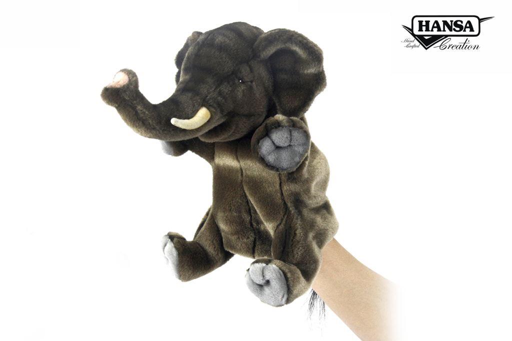 PUPPET ELEPHANT 24CM