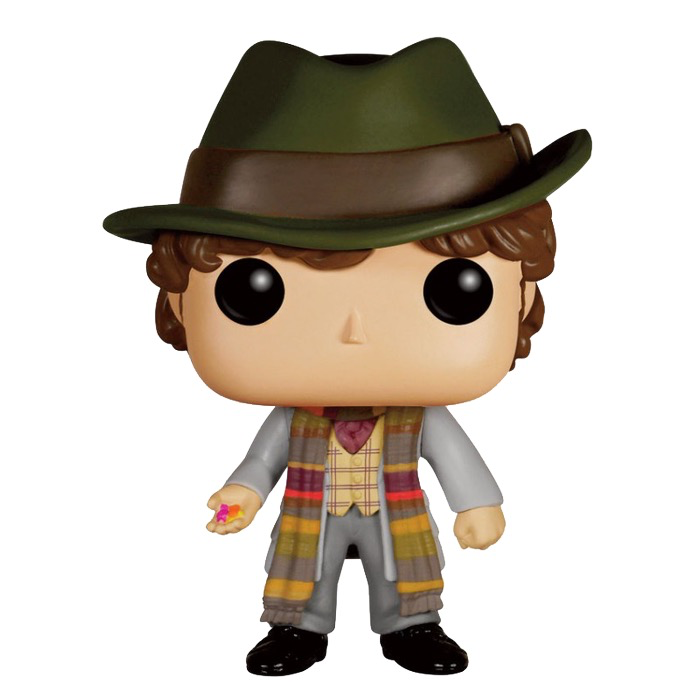 Dr Who - 4th Doctor with Jelly Babies Pop!