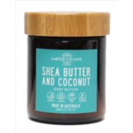 EARTH LOVE 200G BODY BUTTER -SHEA BUTTER AND COCONUT