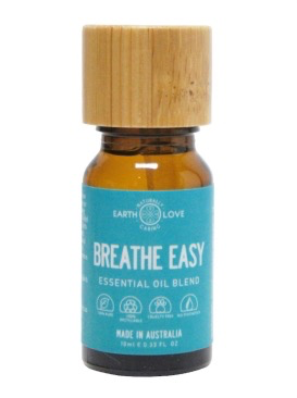 EARTH LOVE 10ML PURE ESSENTIAL OIL BLEND - BREATH EASY
