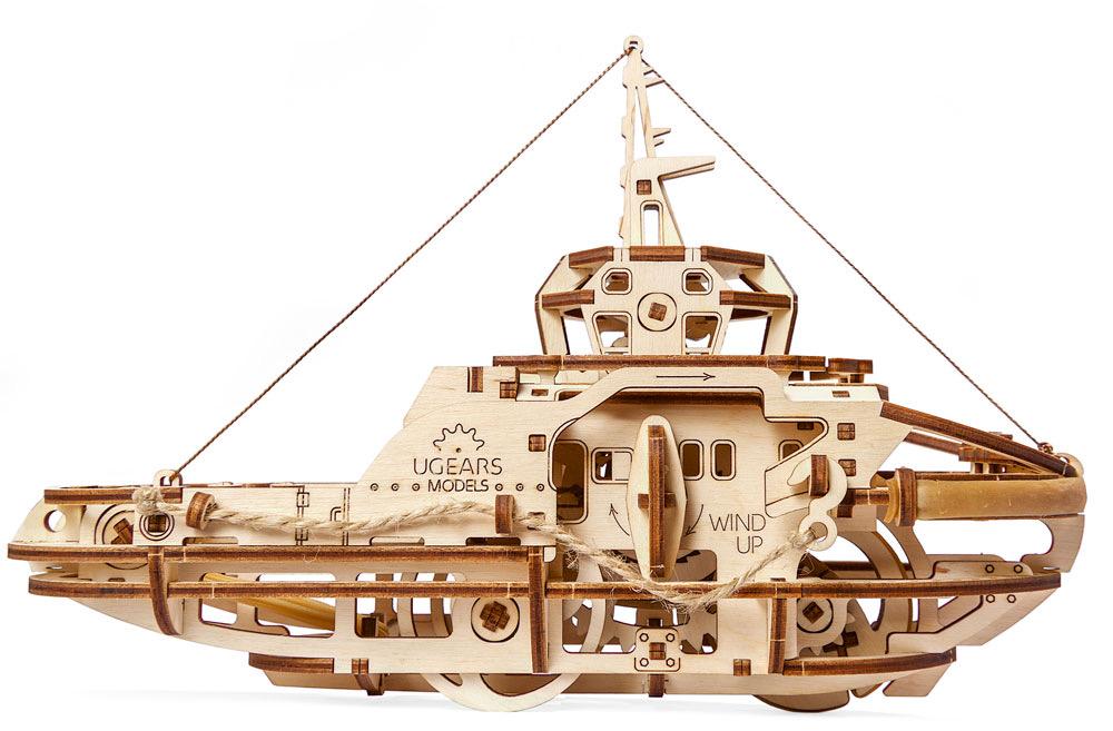 UGEARS Tugboat