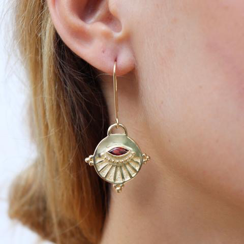 Neo Earrings Gold
