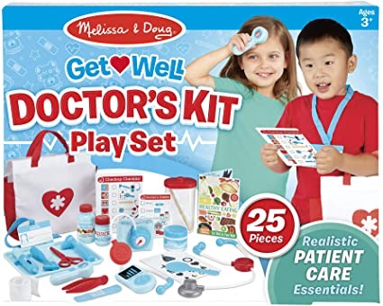 M&D - Get Well Doctor's Kit Play Set